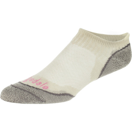 Fitness Like the name suggests, the Bridgedale Men's NA-KD Running Sock was designed with minimalist style that keeps your toes comfy while you conquer the trail, the road or your cross-training workout. - $9.72