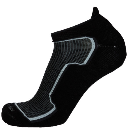 Fitness The below-ankle cut of the Goodhew Men's Taos Micro Sock makes it nearly invisible to fellow runners, but you'll notice it's there because of the incredible feel and fit. - $9.72