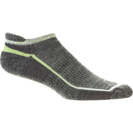 Fitness The below-ankle cut of the Goodhew Women's Micro Running Sock gives your lower leg plenty of breathing room while providing epic comfort during your run or hike. - $16.87