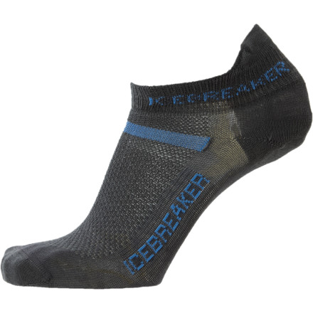 Fitness Designed to keep your toes happy and comfortable, the Icebreaker Men's Multisport Ultralite Micro Sock features a blend of synthetic and natural fibers so you concentrate on your stride. - $13.95