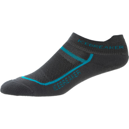 Fitness Long runs and training sessions with the Icebreaker Women's Multisport Cushion Micro Sock help ease the pain and yield more efficient exercise in the gym or out on the trail. - $14.95