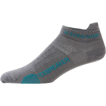 Fitness Break through to the next level of performance and comfort with the Icebreaker Women's Run Ultralite Micro Sock. - $16.95
