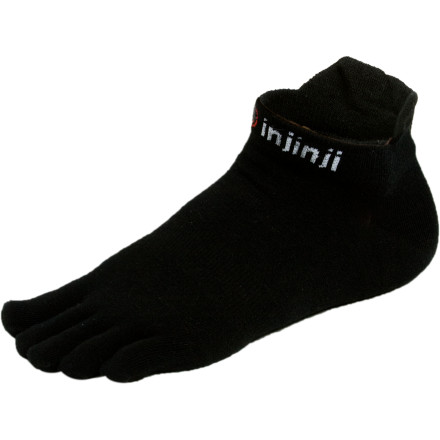 Fitness Maybe you just want more warmth in cooler weather, or maybe you want to pull the inserts out of your shoes and need a little padding between your feet and the footbed. Or maybe you want extra wicking power to keep your feet sweat free during your hike or run. The Ininji Performance Lightweight No-Show Coolmax Toe Socks give your feet a little extra between your skin and your shoes without compromising the minimalist feel that you love. - $12.00