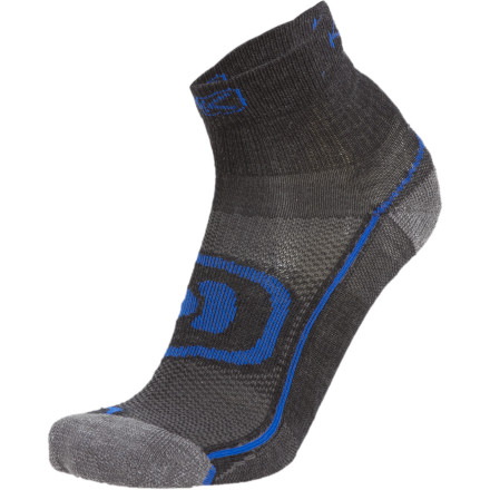 Fitness With the right gear, even the toughest cardio fades underfoot, and the Keen Zip Hyperlite 1/4 Crew Sock is a great example of this. Built with merino wool, this athletic footwear naturally resists odor and wicks moisture to maintain supreme comfort. - $15.95