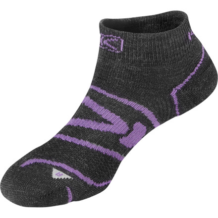 Fitness A steady pace on a mountain trail makes you and your heart feel great. Likewise, the KEEN Women's Zip Hyperlite Low-Cut Sock makes your foot feel great despite your many hot, rocky strides. - $15.95