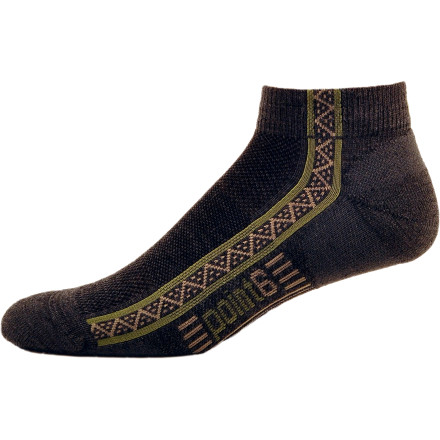Fitness Those long runs down hot gravel roads cease to destroy your feet once you slip on the point6 Running Extra Light Mini Crew Sock and its lightly cushioned foot pad. The blended fabric features merino wool for breathable performance when the sun beats mercilessly down and nylon and spandex to keep the sock in its anatomical shape and prevent blisters. - $15.95