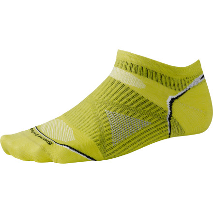 Fitness The Smartwool PhD Running Ultra Light Micro Sock is a super-lightweight, micro sock that features a blend of moisture-wicking nylon and non-itchy merino wool for comfort and odor prevention. - $15.90