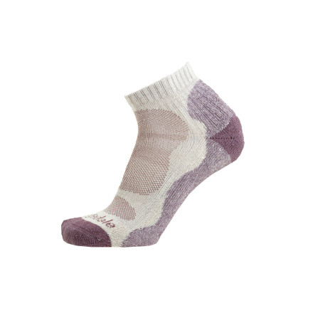 Camp and Hike The Bridgedale Womens Bamboo Lo Sock is fresh, but not pinch-your-butt fresh. Viscose from bamboo fibers boost this socks comfort while you hike. Bridgedale also supports Plant A Boo (a campaign which fights global warming by increasing bamboo cultivation). - $12.95