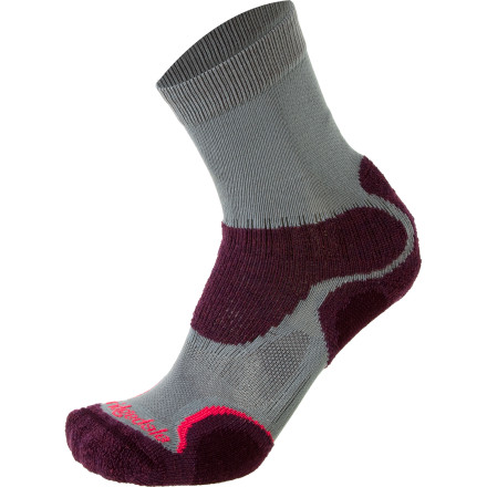 Camp and Hike Slide on the Bridgedale Women's X-Hale Light Hiker Sock and take the dog out for some fresh air. - $17.95