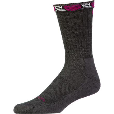 Camp and Hike Hot weather and rough trails are no match for the Lorpen Women's Merino Light Hiker Crew Sock. This sock features naturally breathable merino wool material blended with quick-drying and stretchy synthetic fibers that offer a comfortable, dynamic fit. Take this lightly cushioned sock along for spring and summer hikes into the desert or backpacking through muggy weather back east. - $17.95