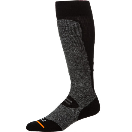 Ski The FITS Medium Ski Over The Calf Sock can turn a good day of skiing into a great one with full cushioning around the foot and up the shin to reduce the pain and fatigue associated with wearing big, heavy ski boots. - $24.95