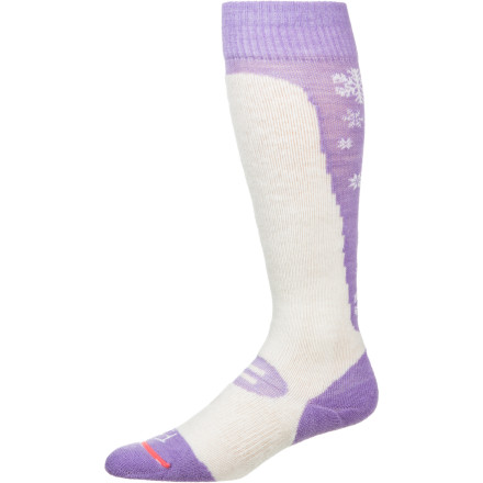 Ski Slide your feet into a pair of the FITS Women's Medium Ski Over-The-Calf Socks and revel in the stellar, individualized fit while you carve up groomers or navigate down through steep, techy terrain. - $24.95