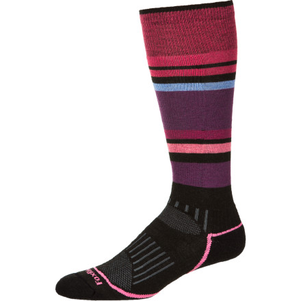 Ski Treat your feet with the Fox River Sundown Women's Ski Sock. Eco-fibers blend wicks moisture faster than pure wool, while still retaining wool's anti-microbial and insulating properties. - $9.72