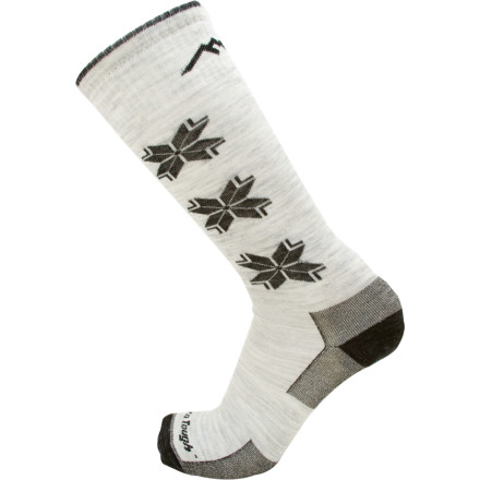 Snowboard The Darn Tough Merino Wool Over-the-Calf Ultra-Light Ski sock is designed for racers or skiers and riders who are looking for an uncompromised custom fit. - $20.95