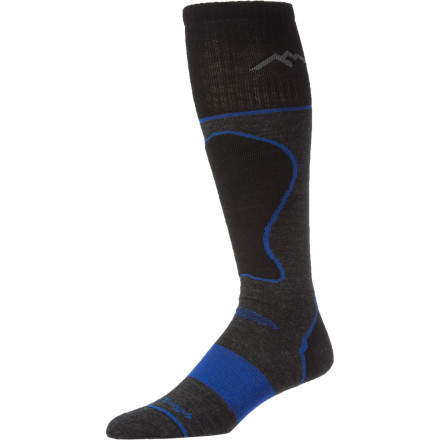 Ski The Darn Tough Merino Wool True Seamless Over-The-Calf Padded Ultra-Light Ski Socks keep your feet feeling good. Ultra-soft Merino wool naturally wicks moisture to keep your feet dry and warm. Plus, merino naturally inhibits the growth of the germs that make socks stink. - $23.95