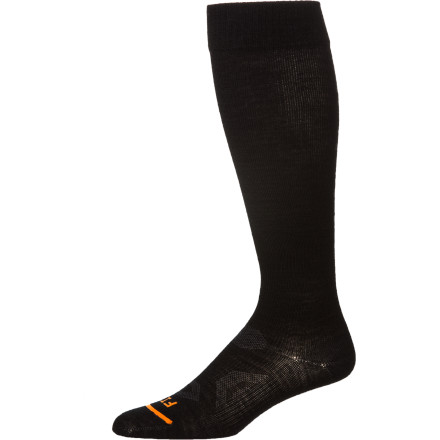 Ski The FITS Ultra Light Ski Over The Calf Socks blows you away with its stellar Full Contact fit, minimum bulk in your boots, and ultra-light weight. - $19.95