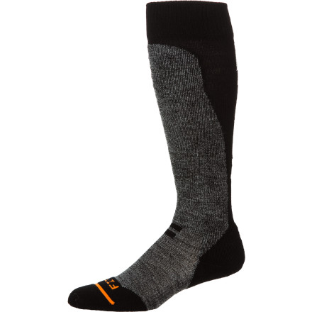 Ski Skiing places additional and unusual demands on your feet and lower legs. Protect them with the FITS Light Ski Over The Calf Sock, which combines strategically placed padding, a long cut for added protection, and ventilation panels to keep your foot dry and comfortable all day. - $23.95