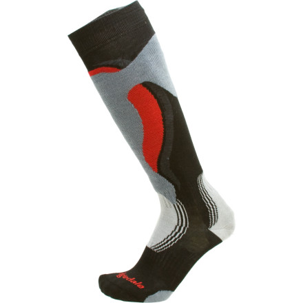 Ski Slip on the Bridgedale Control Fit Sock and make skiing a less painful experience. The Control Fit is specifically designed for skiing and addresses some problems with ski boots that we just had to deal with in the past. The Control Fit reduces shin-bang, increases control, and eases entry and exit. - $14.27