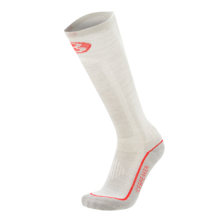 Ski We all know about the socks you used to wear skiing...because we wore them too. However, with the Icebreaker Women-Specific Skier Lite Sock, there are no more excuses for inferior socks. Specially designed for skiing, this sock offers wicked arch support, zone-specific thickness including toe and heel reinforcement, and the miracle fiber merino wool. - $16.76