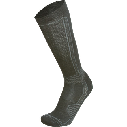 Ski You might not get cold feet when you're staring down what looks like an over-vert slope, but you might get sweaty feet. Slide into the Patagonia Ultra Lightweight Merino Ski Socks. - $22.00