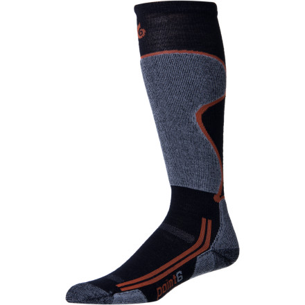Ski Give your feet the royal treatment when you ski with the Point6 Ski Lightweight Socks. Your feet will enjoy the merino wool and the light cushioning in the shin and under the foot so much, they may not even hold the ski boot thing against you. - $21.95