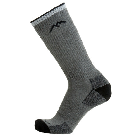 Camp and Hike Pull on the Darn Tough In-Country Coolmax Cushion Boot Sock for everything from an easy day-hike to a crushing, multi-day trek. This sock features a high-tech blend of Coolmax, nylon, acrylic, and lycra for a sock that is breathable, comfortable, and stretchy. Reinforced toe and heel areas pad sensitive spots during high-mileage days, and elastic around the arch eliminates bunching. - $20.95