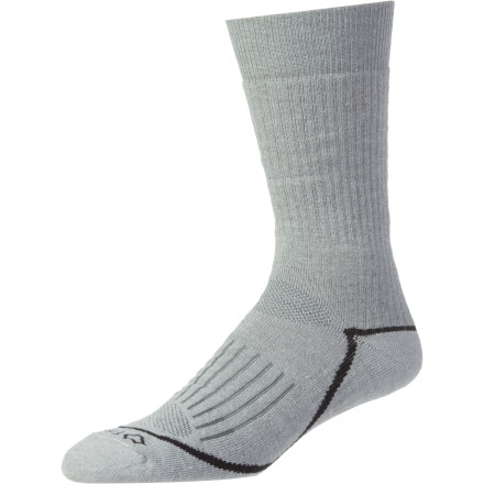 Camp and Hike Before your next day out on the trail, slip on a pair of midweight Fox River Pioneer Crew Socks. Made from soft merino wool with reinforced heel and toe areas, these socks are built for mile after mile of trail blazing. Wick Dry Technology keeps your feet dry, and the special knitting reduces annoying sock bunching. - $14.95