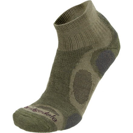 Camp and Hike Take care of your feet on your next hike by covering them in the Bridgedale Trailblaze Lo Midweight Hiking Socks. An optimal blend of nylon, merino wool, polypropylene, and Lycra offers comfort and moisture management even on wet extended treks. - $15.95