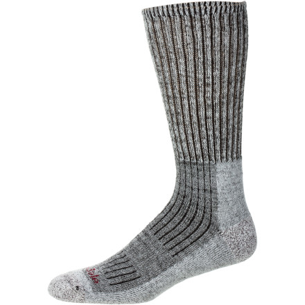 Camp and Hike The Bridgedale Men's Trekker Sock tackles day-long hikes or longer journeys that take you from Spring in Georgia to Fall in Maine. Durable, densely cushioned and smooth-as-silk, this sock serves more purposes than a knife made by the Swiss. - $20.95