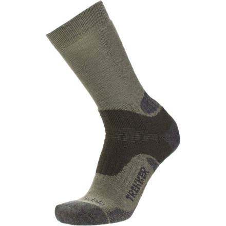 Camp and Hike When you have miles and miles of trail stacked up ahead of you, get your feet into the Bridgedale Wool Fusion Trekker Socks. These feel-good hiking socks are great for arduous excursions into the backcountry where your feet are your only mode of transportation. - $16.11