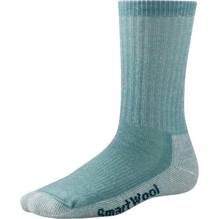 Camp and Hike When you spend the whole day walking, a good pair of socks can mean the difference between an enjoyable hike and an agonizing, seemingly endless death-march. Smartwool designed the Womens Medium Hiking Sock to cushion your feet and reduce the fatigue associated with all-day hikes. - $18.90