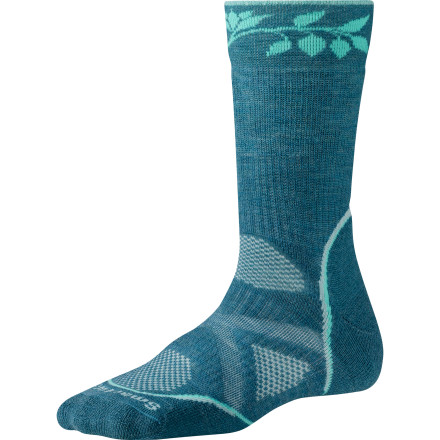 Camp and Hike SmartWool loaded its PhD Outdoor Medium Women's Crew Sock with a host of technical features to give you blister-proof performance on the trail. However, we suspect that you'll be pulling this plush, ultra-comfortable sock out of the drawer long after you've put the hiking boots away for the year. - $23.90