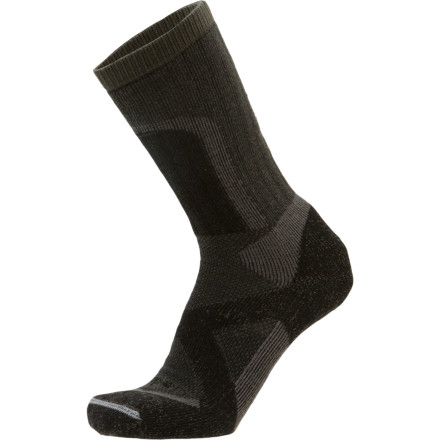 Camp and Hike When are you ever going to reach the hytta' Thank goodness your feet are cozy and warm with the Lorpen Tri-Layer Heavy Trekker Hiking Sock. These heavyweight socks are the two things that havent broken down. The durable synthetic outer layer on your toes and heels gives you greater resistance to abrasion and wear. If you had only thought to purchase two pairs before your hut trip across southern Norway. - $22.95