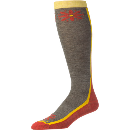Entertainment Darn Tough designers created the Women's Merino Wool Knee High Flower Power Light Socks out of a lightweight fabric blend that's heavy on high-performance merino. Don't be fooled by the extreme durability and superior wicking abilities of the Flower Power Socks. While they offer unrivaled durability and support, these fun-loving socks are meant for everyday use. - $13.62