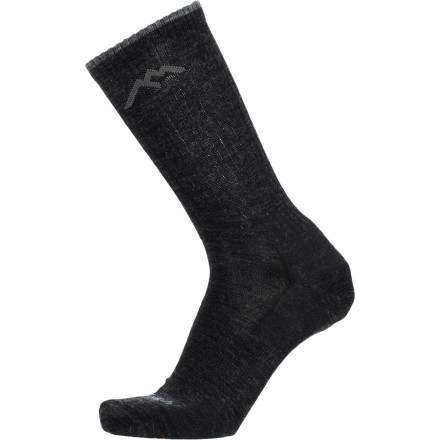 A sock is a sock is a sock is a sock...or so you thought until you slipped on the Darn Socks Merino Wool Standard Issue Crew Light Sock and felt the comfy difference as you walk through a foreign city in your business-trip getup. - $18.95