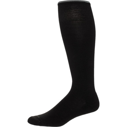 Ever been so frustrated at a sock that refuses to stay up that you just take it off and curse its existence' You'll never feel that way about the Goodhew Women's Straight Up Sock. - $12.57