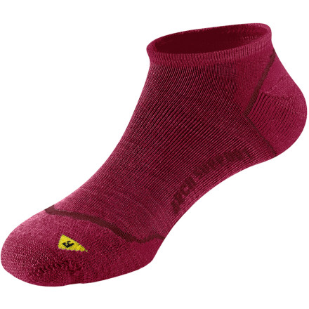 Pull a pair of Keen's Bellingham Low Ultralight Socks over your feet, and get ready to hit the trail. Keen made these ankle-cut socks with an ultralight weave and 60% merino wool to increase breathability and regulate temperature so that your feet stay cool, comfortable, and less prone to hot spots and blisters. The Bellingham Socks are cut to match your left and right feet, which produces a better fit and reduces sock-clumping in your shoes. Merino wool is also naturally odor-resistant, which is a nice feature when it comes time to take off your shoes. - $10.37