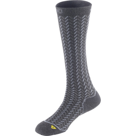 Camp and Hike Wear it hiking in summer or with you furry-top boot in winter because the KEEN Women's Gracie Knee High Lite Sock functions great and feels even better. - $11.67