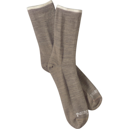 The Patagonia Ultra Light Merino Crew Sock encases your foot in natural wool and nylon blended fabric for itch-free durability and a long lasting life. - $9.00