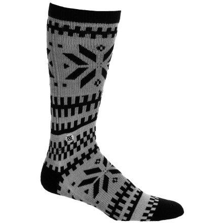 If you're the sort of dude that likes to look and feel good try on the Stance Merino Wool Sock. Anti-stink merino wool encases your foot in natural comfort, while Stance's contemporary designs give you a sock fit for any occasion. - $9.77
