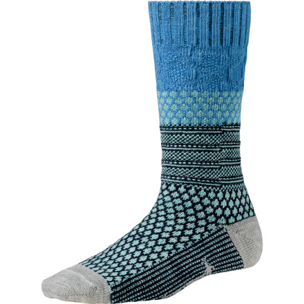 Pull on the Smartwool Women's Popcorn Cable Sock, revel in your new-found cozy feet, and get to work on that hard day of relaxing you've been planning. - $14.24