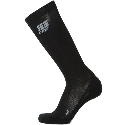 Fitness Never before has a sock been able to actually improve your performance, but the CEP Running Compression Sock has been scientifically proven to aid blood circulation and in turn increase your muscles' ability to function under stress. Providing the patented pressure profile, or iPS (Integrated Power System), this compression sock can add power to races and training sessions. - $44.96