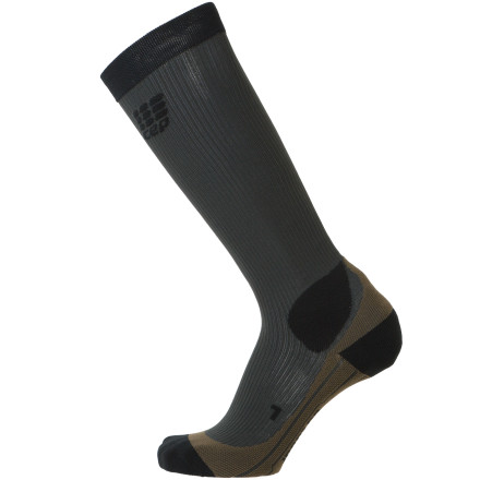 Camp and Hike Before you trust your five-toed friend to take you out into the wild and bring you back safely, slip on the CEP Outdoor Compression Sock. With consistent compression in targeted areas, this tight, lightweight hiking sock allows better circulation, which helps reduce fatigue while also reducing muscle vibration and the likelihood of injury during demanding treks. - $59.95