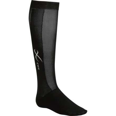 The CW-X Compression Support Sock support your calf muscle, ankles, and arches with gradual compression to help your legs recover quickly after a long trek into the woods. A stretchy toe box eliminates that annoying feeling of your socks constricting your toes, and anatomically-correct left and right construction ensures the most dialed fit. And unlike your stifling cotton knee-highs, these socks rock mesh vents that allow heat to move away from the surface of your foot so your feet stay cool. - $44.95