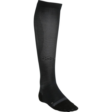 Perform under pressure thanks to the CW-X Ventilator Compression Support Sock. From your toes to your calf, these socks offer gradual compression that reduces the build-up of lactic acids, so your muscles require quicker after a long day on the trail. Lightweight synthetic materials breathe easy, while mesh ventilation on the top of the sock allows heat to move away from your skin. CW-X shaped these socks with a flexible toe box, and in order really drive your performance home, a unique web of materials offers additional support to your ankle and arch. - $54.95