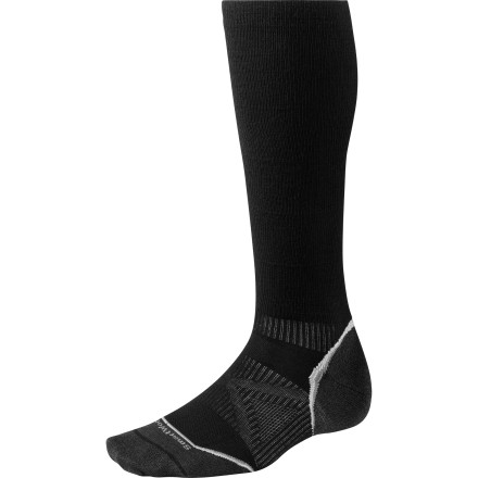 Fitness Built to improve blood circulation, provide extra muscle support, and dampen vibrations during training, the SmartWool PhD Running Graduated Compression Ultra Light Sock provides top-of-class comfort on-trail and post-workout. - $37.90