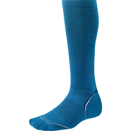 Fitness Designed to dampen vibrations during training, provide extra muscle support, and improve blood circulation to promote recovery, the SmartWool PhD Running Graduated Compression Ultra Light Sock delivers top-shelf comfort during your workout and beyond. - $39.90