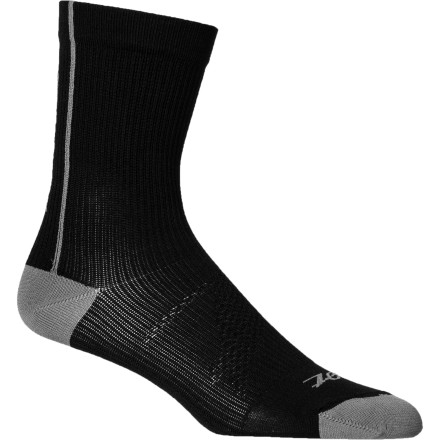 Fitness Ideal for runners or cyclists to use post workout, the Zoot Performance CompressRx Half Socks pulls blood out of your feet to help alleviate lactic acid build up, promotes blood flow, and supply comfort and support after hours of pounding the pavement or sitting in the saddle. - $16.22