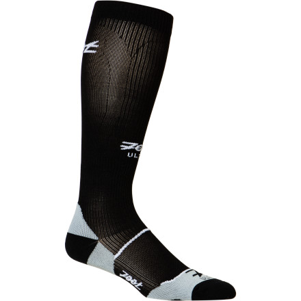 The Zoot Men's Ultra CompressRx Sock features graduated compression from the ankle to the top of the calf which helps remove lactic acid and improve blood circulation back to the heartall while you train for your marathon or crank out the miles on your bike. - $38.97