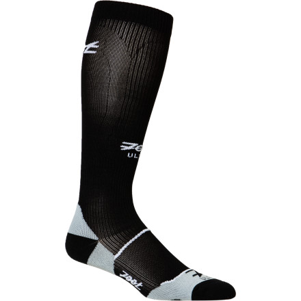 Fitness Whether you're training for a marathon or competing in a cycle cross race, reap the benefits of the Zoot Women's Ultra CompressRx Sock. Thanks to its three different muscle-specific zones of compression, the Ultra CompressRx stabilizes the calf muscle, helps remove lactic acid, and improves blood circulation during exercise. - $38.97